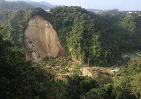 La catástrofe dejó a cientos de personas soterradas.