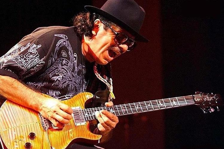 Carlos Santana es considerado uno de los virtuosos de las cuerdas. (Foto Prensa Libre: Hemeroteca PL)