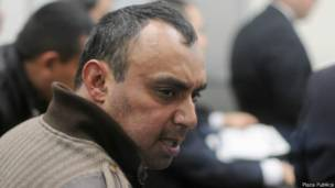 Byron Lima es el prisionero más fuerte de Guatemala, de entre quienes no pertenecen a las pandillas. (Foto Prensa Libre: BBC Mundo/Plaza Pública)