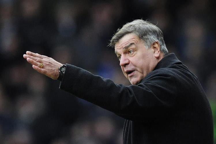 El hasta ahora técnico del Sunderland, Sam Allardyce, fue nombrado técnico de la selección de Inglaterra. (Foto Prensa Libre: EFE)
