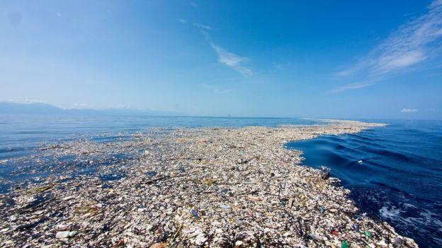 Guatemala asegura que contralará los vertimientos de basura hacia el mar Caribe a partir del próximo año. Foto cortesía de Caroline Power.