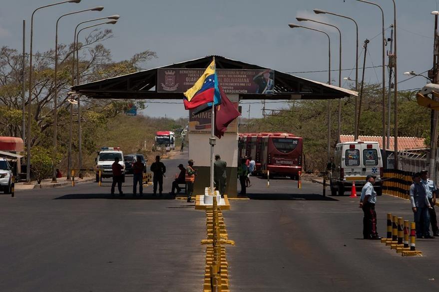 Venezuela cerró parte de su frontera con Colombia, por incidente militar. (EFe)