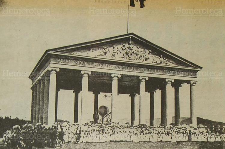Templo de Minerva construido en 1901. (Foto: Hemeroteca PL)