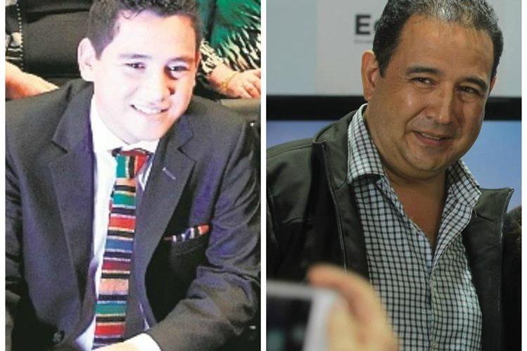 Hijo y hermano del presidente declararon en el MP.