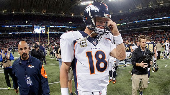 Un reporte asegura que Peyton Manning recibió hormona de crecimiento humano. (Foto Prensa Libre: AP).