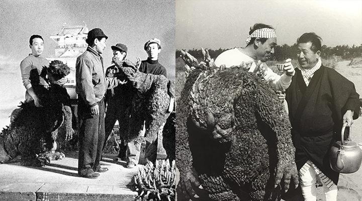 Haruo Nakajima como Godzilla. (Foto Prensa Libre: EFE)