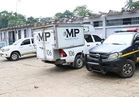 La muerte del reo José Manuel Tococ Mejía se registró a eso de las 12 horas, en la cárcel de Mazatenango, Suchitepéquez. (Foto Prensa Libre: PNC)