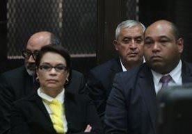 Pérez y Baldetti nuevamente en tribunales.