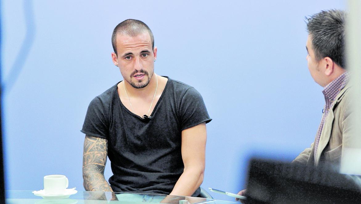 Pablo Mingorance, durante una entrevista en Tododeportes. (Foto Prensa Libre: Hemeroteca PL)