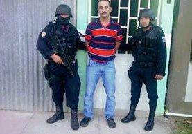Marlon Esaú  Casasola Sosa, de 33 años, fue capturado en Los Amates, Izabal, señalado del delito de secuestro. (Foto Prensa Libre: PNC)