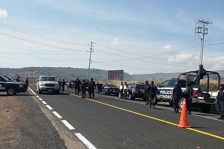 Hallan seis cabezas en Michoacán, México. (Foto Prensa Libre: EFE)