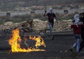 El conflicto israelopalestino se agudiza. (Foto Prensa Libre: EFE)