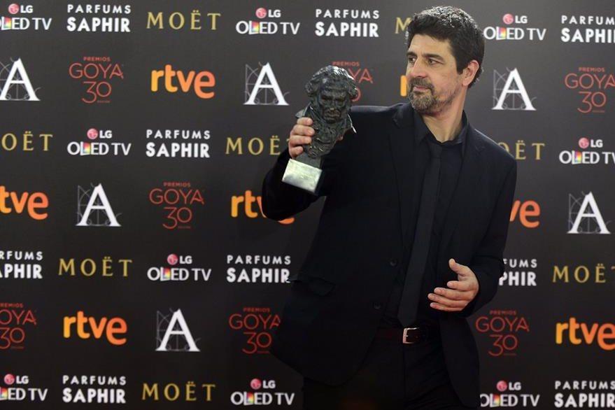 El director Cesc Gay ganó con su película Truman (Foto Prensa Libre: AFP)