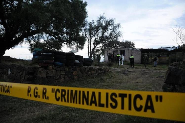 La violencia en México se ha incrementado. (Foto Prensa Libre: EFE)