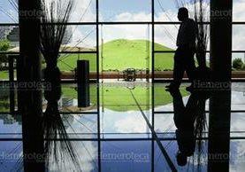 Montículo en las afueras del Museo Miraflores. (Foto: Hemeroteca PL)