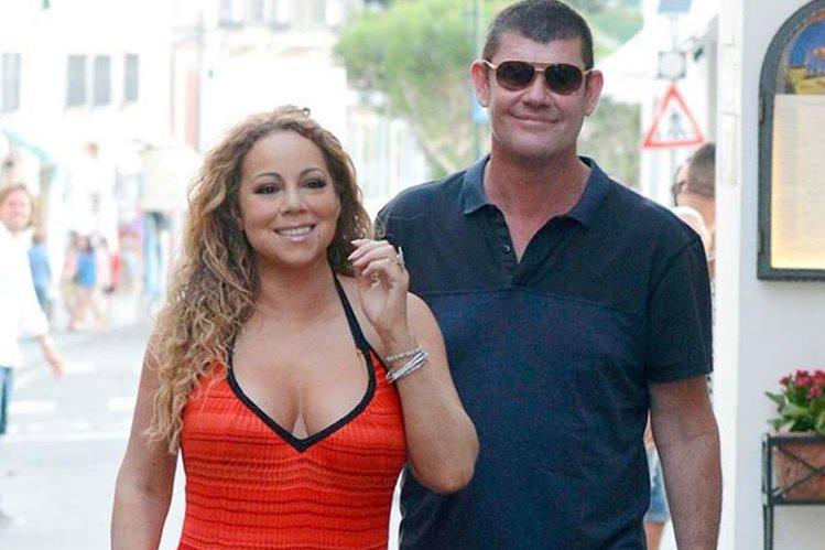 Mariah Carey se casará por tercer vez, con el australiano James Packer. (Foto Prensa Libre: Tomada de Tmz.com)