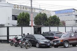 Fotografía de la sede del Organismo Judicial en Chimaltenango. (Foto Prensa Libre: Víctor Chamalé)