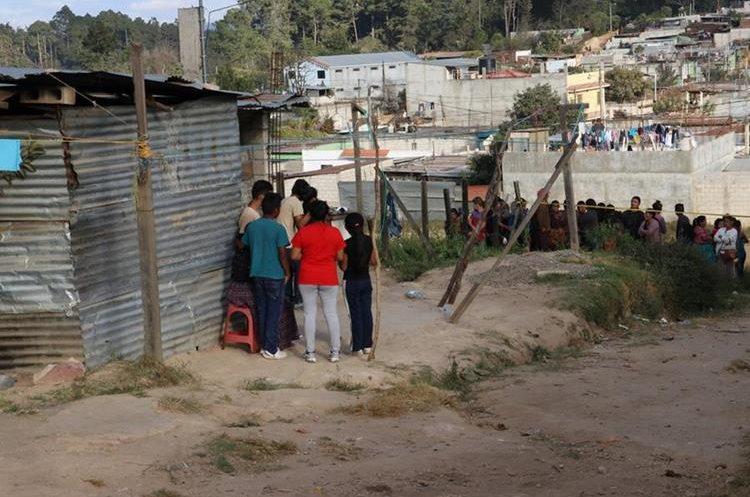 El crimen contra Cristian Emanuel Caal Coy ocurrió en la colonia Buena Vista sector norte, zona 7 de Chimaltenango. (Foto Prensa Libre:)