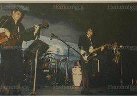 Los Iracundos en Guatemala, en 1993. (Foto: Hemeroteca PL)