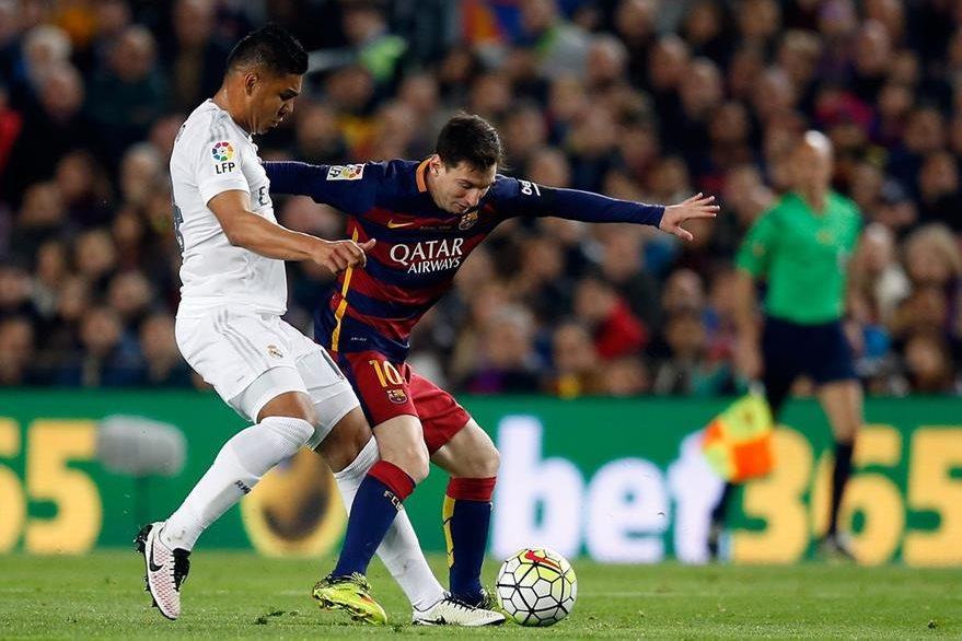 Messi fue titular en el clásico que el FC Barcelona perdió 2-1 contra el Real Madrid el sábado anterior. (Foto Prensa Libre: AP)