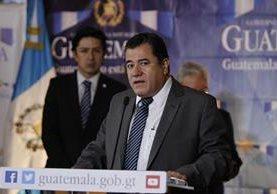 Mauricio Guerra, gerente del INE, anunció la realización de un censo para 2017. (Foto Prensa Libre: Paulo Raquec)