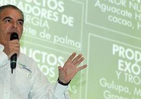 Aurelio Iragorri Valencia, jefe de la Cartera Agropecuaria de Colombia, indicó que Colombia Siembra es la nueva política del Gobierno Nacional liderada por el MinAgricultura. (Foto Prensa Libre: minagricultura.gov.co)