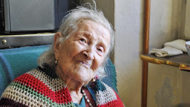 Emma Morano, la mujer más longeva de Europa. (Foto: tomada del sitio www.lastampa.it).