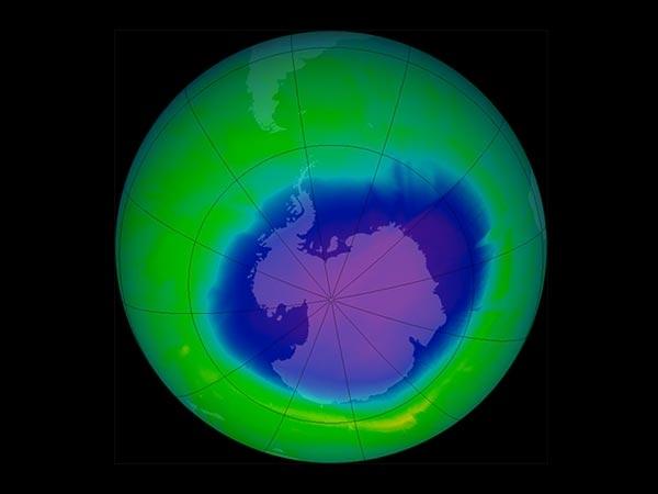 Agujero de la capa de Ozono en 2011. (Foto: Hemeroteca PL)