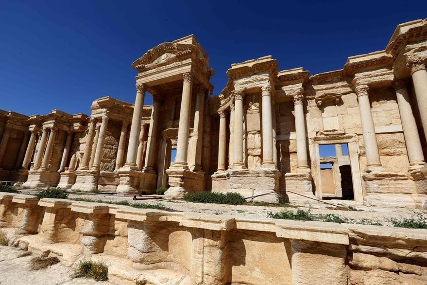 Palmira era un oasis para las caravanas entre el Golfo y el Mediterráneo y una etapa en la ruta de la seda. (Foto Prensa Libre: AFP).