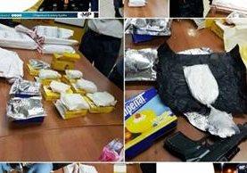 Recientes hallazgos de droga han evidenciado las nuevas prácticas para trasegar estupefacientes. (Foto Prensa Libre: MP)