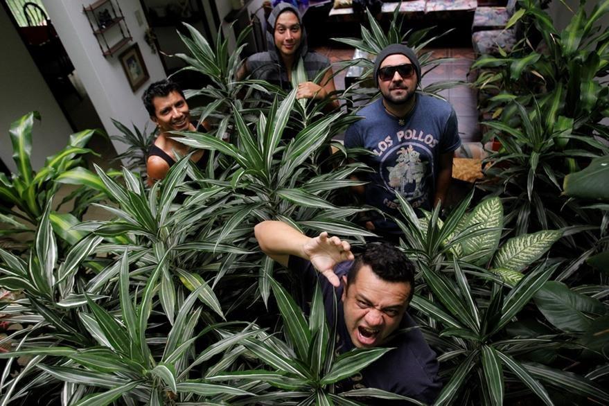 Viernes Verde continúa con la promoción del álbum Namasté. (Foto Prensa Libre: Keneth Cruz)