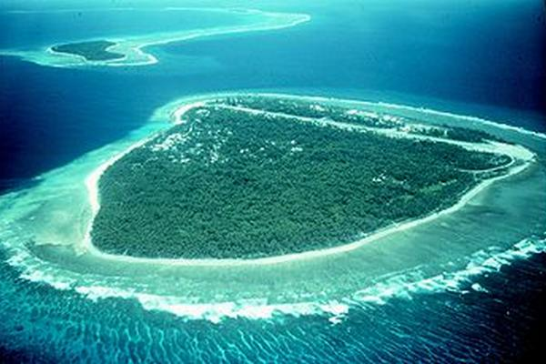 <p>El atolón de Bikini está en las Islas Marshall (de Estados Unidos) en la Micronesia, en el océano Pacífico.</p>
