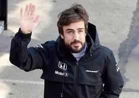 """Alonso está bajo cuidados intensivos pero se reporta que """"está bien"""", según los médicos. (Foto Prensa Libre:Hemeroteca)"""