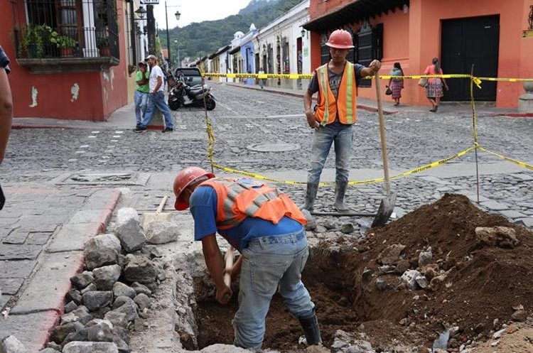 El costo del proyecto es de Q5 millones 136 mil 470.40 y se terminará en seis meses. (Foto Prensa Libre: Julio Sicán)