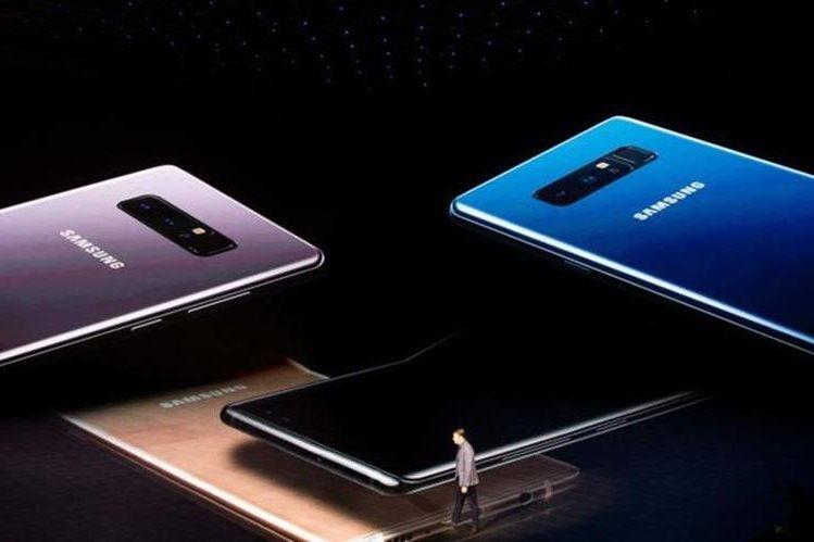 El Galaxy Note 8 es más grande y más costoso que su predecesor. Y muy probablemente también más seguro. GETTY IMAGES