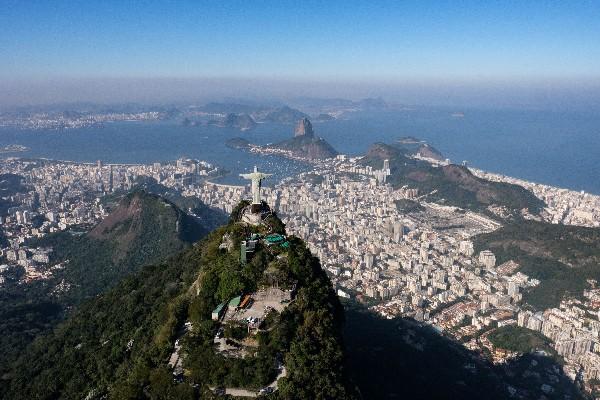 Una panorámica de la ciudad de Río de Janeiro, Brasil. (AFP)