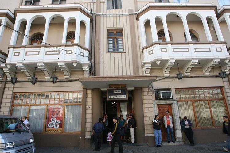 Hotel Panamerican, ubicado en la zona 1. Centro Histórico capitalino. (Foto Prensa Libre: Érick Ávila)