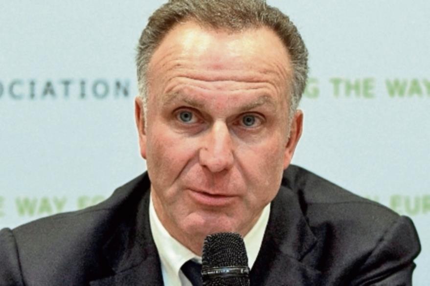 Karl-Heinz Rummenigge Presidente del Consejo Directivo del Bayer Munich, ha anunciado cambios para fin de año. (Foto Prensa Libre: Hemeroteca)