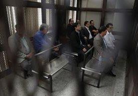 Los 11 implicados en la estructura Negociantes de la Salud escucharán por segundo día los audios en poder del Ministerio Público (Foto Prensa Libre: Hemeroteca)