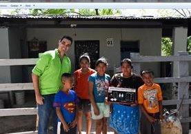Green y Megapaca donarán paneles solares a 20 familias de Santa María de Cahabón.