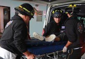 Un hombre murió al ingresar al Hospital General luego de ser víctima de un ataque armado en la zona 18. (Foto Prensa Libre: Érick Ávila)