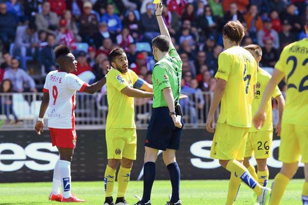 El Villarreal se vio estancado este domingo en su visita al Almería. (Foto Prensa Libre:EFE)