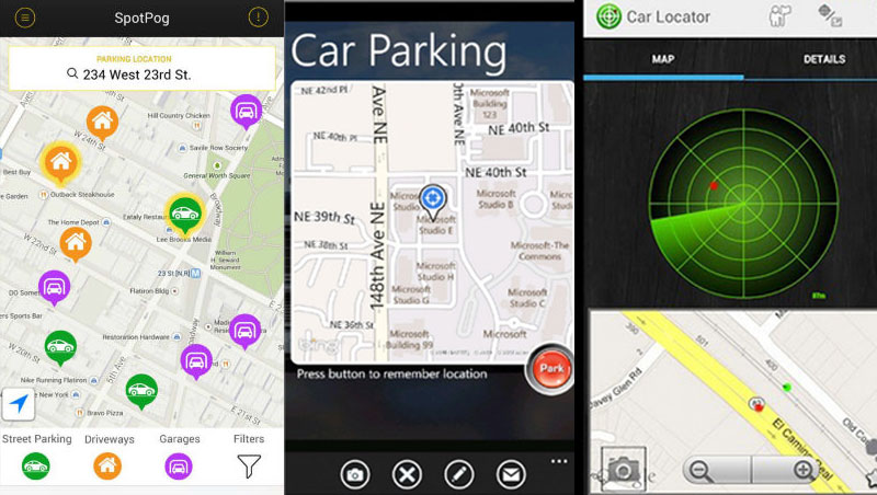 Aplicaciones gratuitas están disponibles para ubicación del vehículo. (Foto Prensa Libre: Hemeroteca PL)