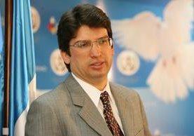 Rubén Morales renunció al cargo el 29 de abril. Reveló que le solicitaron su dimisión por un mensaje de texto. (Foto Prensa Libre: Hemeroteca PL)