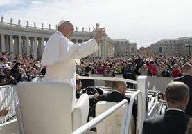 El papa Francisco recibirá al presidente de EE. UU. (Foto Prensa Libre: EFE)