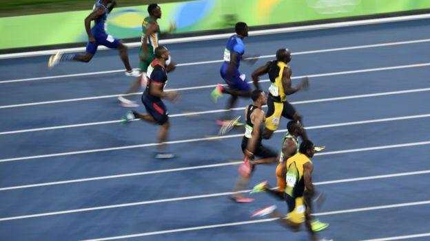 """En un punto de la carrera hasta respirar está """"prohibido"""". (Getty)"""