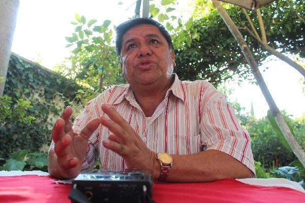 Cronista Fermín Herrera, de Huehuetenango, de 60 años.