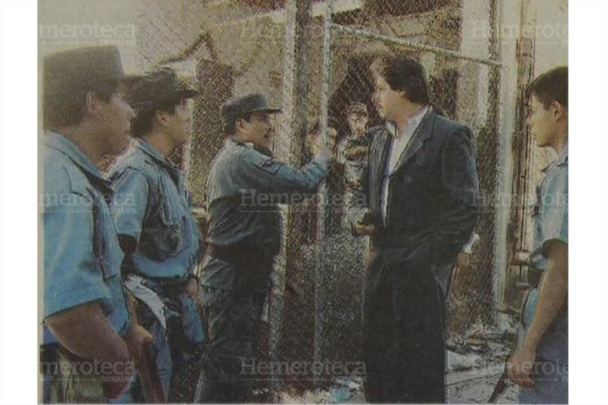 Joel Torres  Director del Sitema Penitenciario acude al preventivo tras fuga. (Foto: Hemeroteca PL)