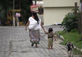 Santa Apolonia, Chimaltenango, registra una baja tasa de partos de niñas y adolescentes con más acceso a educación y salud. (Foto Prensa Libre: Carlos Hernández)