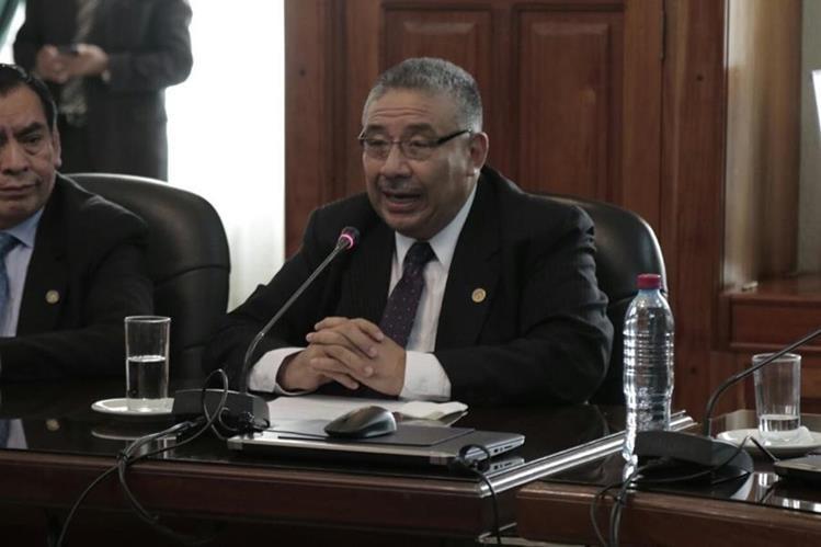 José Antonio Pineda Barales obtuvo 9 votos a favor. (Foto Prensa Libre: Paulo Raquec)